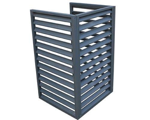 产品名称:铝合金空调罩