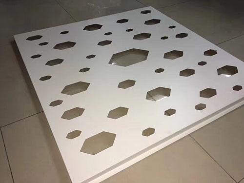 产品名称:铝板冲花空调护栏
